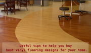Look no further for quality vinyl flooring design for homes