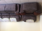 1 three seater RECLINABLE Sofa and 2 one seater Recliners