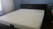 King size upholstered bed with Luxurious Mattress