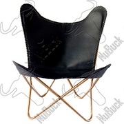 Buy Online Premium Quality Black Leather Chairs Sydney