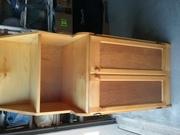 Custom made Pine Microwave oven cupboard