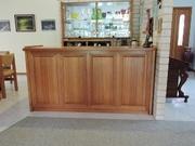 Timber Bar cabinet
