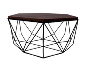 Shop Authentic Wood Crafted Modern Coffee Table