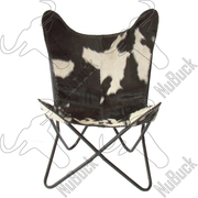 Buy Brown Splotch Hair on Hide - Butterfly Chairs